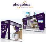 Rouillier Phosphea - habillage stand salon